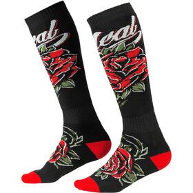 O'Neal Pro MX Calcetines, negro/rojo